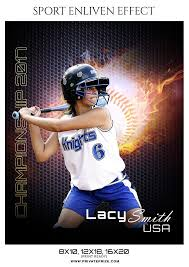 Lacy Smith-Sports Photography Template- Enliven Effects