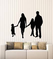 Vinyl Wall Decal Big Family Event Husband Wife Children Stickers Mural Wallstickers4you