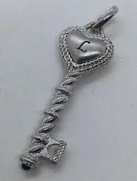 judith ripka sterling silver initial l