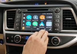 Vline Navigation System With Android Auto For Toyota With Entune 2 0