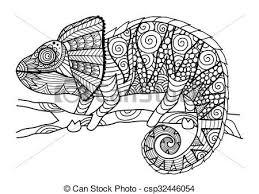 Afbeeldingsresultaat Voor Kameleon Tekening Kleurplaten Tekenen