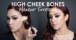high cheek bones makeup tutorial for