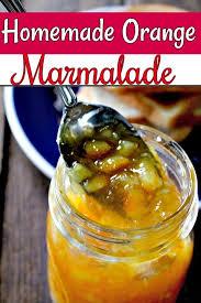 homemade orange marmalade recipe