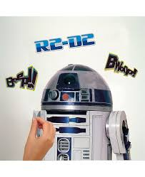 York Wallcoverings Star Wars Classic R2d2 Peel And Stick Giant Wall Decal Reviews All Wall Decor Home Decor Macy S