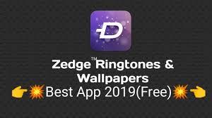 zedge ringtones wallpapers app 2019