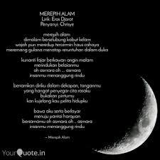 merepih alam lirik eros quotes writings by fitri