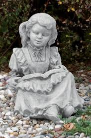 statuary in cast stone and resin
