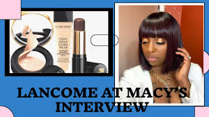 macy s lane beauty advisor interview