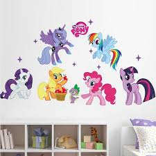 My Little Pony Wall Art Decoration Sticker Tyzy1425