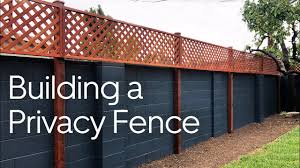 Building A Privacy Fence 58 Youtube