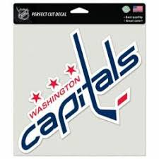 Washington Capitals Stickers Decals Bumper Stickers