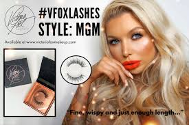 new lashes mgm victoria fox makeup