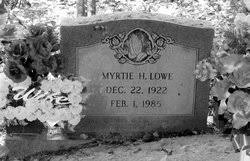 "Myrtle ""Myrtie"" Howell Lowe (1922-1985) - Find A Grave Memorial"