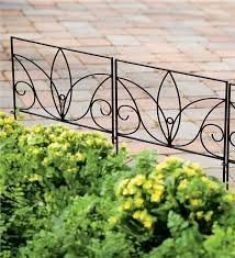 perfect wrought iron edging that s easy