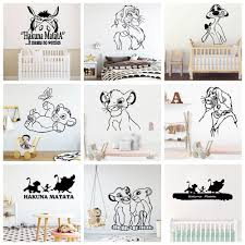 Hot Discount 715f15 Cute Animals Vinyl Wall Stickers For Kids Children Room Decorative Sticker Mural Wall Decals Wallpaper Vinilo Pared Cicig Co