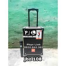 LOA LOẠI 1] Loa Kéo Karaoke Bluetooth JBZ NE108 150W Bass 2 Tấc ...
