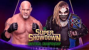 Goldberg, Lesnar, to Feature in WWE Super Showdown in Saudi Arabia