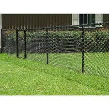 4 Ft H X 50 Ft L 9 Gauge Vinyl Coated Steel Chain Link Fence Fabric Lowes Com In 2020 Chain Link Fence Black Chain Link Fence Fence Fabric