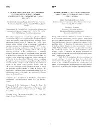 2-D Parameter Studies of Ion/Electron Current Coupling in Particle in Cell  Simulations