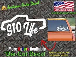 Chevrolet S10 Life Truck Off Road Jdm Race Low Vinyl Car Window Decal Sticker Ebay