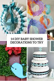 14 cutest diy baby shower decorations