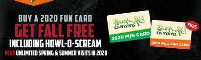 busch gardens williamsburg a 2020