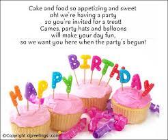 birthday invitation wording ideas invitation sayings