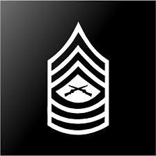 3 5 X 6 5 Master Sergeant Usmc Rank Symbol Vinyl Decal Car Window Laptop Sticker Wish
