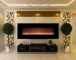 glow fire electric fireplace mars