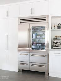 sub zero pro 48 glass door refrigerator