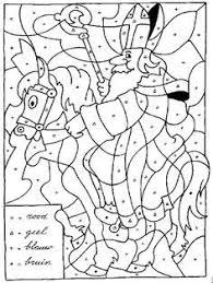 Sint Op Paard Kleuren Op Letter Sinterklaas Kleurplaten