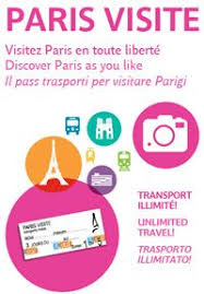 the paris visite travel card is valid