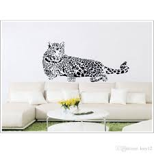 Hot Sale New Vinyl Wall Stickers Animal Cheetah Leopard Removable Wall Decal For Kids Nursery Living Rooms Home Decoration Large Wall Decals Cheap Large Wall Decals For Kids From Kity12 4 03 Dhgate Com