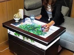 awesome diy fish tank coffee table