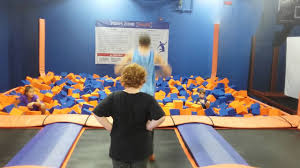 sky zone in st catharines ontario