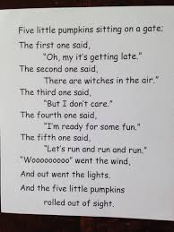 Five Little Pumpkins Poem And Crafts Classy Mommy