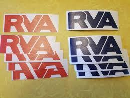 Rva Pack Of 5 Vinyl Decal Richmond Virginia Etsy
