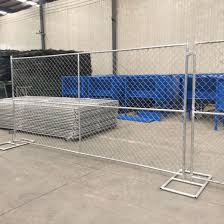 China 6 X 12 Chain Link Mobile Fences Temporary Construction Fence Panel China Chain Link Temporary Fence Temporary Construction Fence