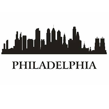 Philadelphia City Decal Wall Sticker Vinyl Stickers Decor Mural Art Living Room Home Decoration Landmark Skyline Wall Decal Wall Stickers Aliexpress