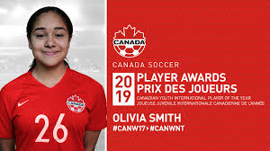 Jayden Nelson and Olivia Smith named Canada Soccer's Youth International  Players of the Year - ISN