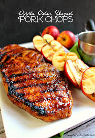 apple cider glazed pork chops amazing