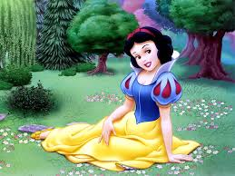 snow white disney cartoon wallpaper