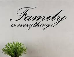 Family Is Everything Wall Decor Stickers Contemporary Wall Decals By Vinylsay Llc