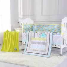 8pcs baby crib bedding sets cotton