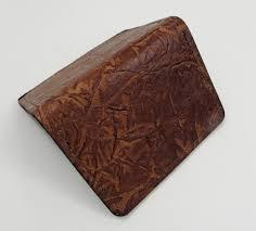leather minimalist wallet template