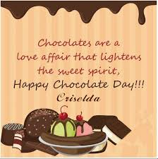criselda chocolate day quotes for him here husband girlfriend