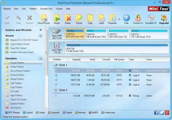 """Image result for MiniTool Partition Wizard Pro 2020 Crack"""""""