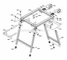 Craftsman Table Saw 137218300 Ereplacementparts Com