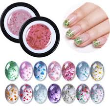 natural flower fairy uv gel nail polish