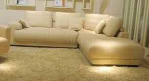 top grain leather modern sectional sofa